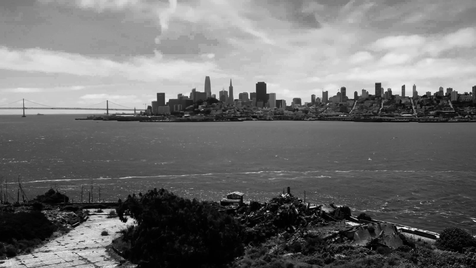 Tips Berlibur Murah Ke California, View dari Alcatraz Island